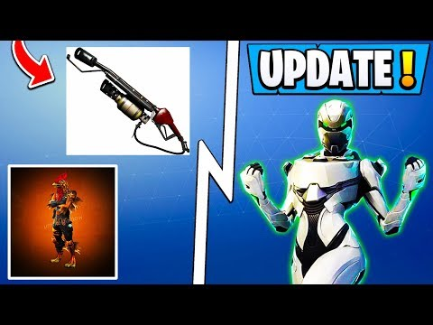 *BIG* Fortnite Update! | 5.5 Weapon, XBOX Exclusive Pack, Chicken Skin! thumbnail