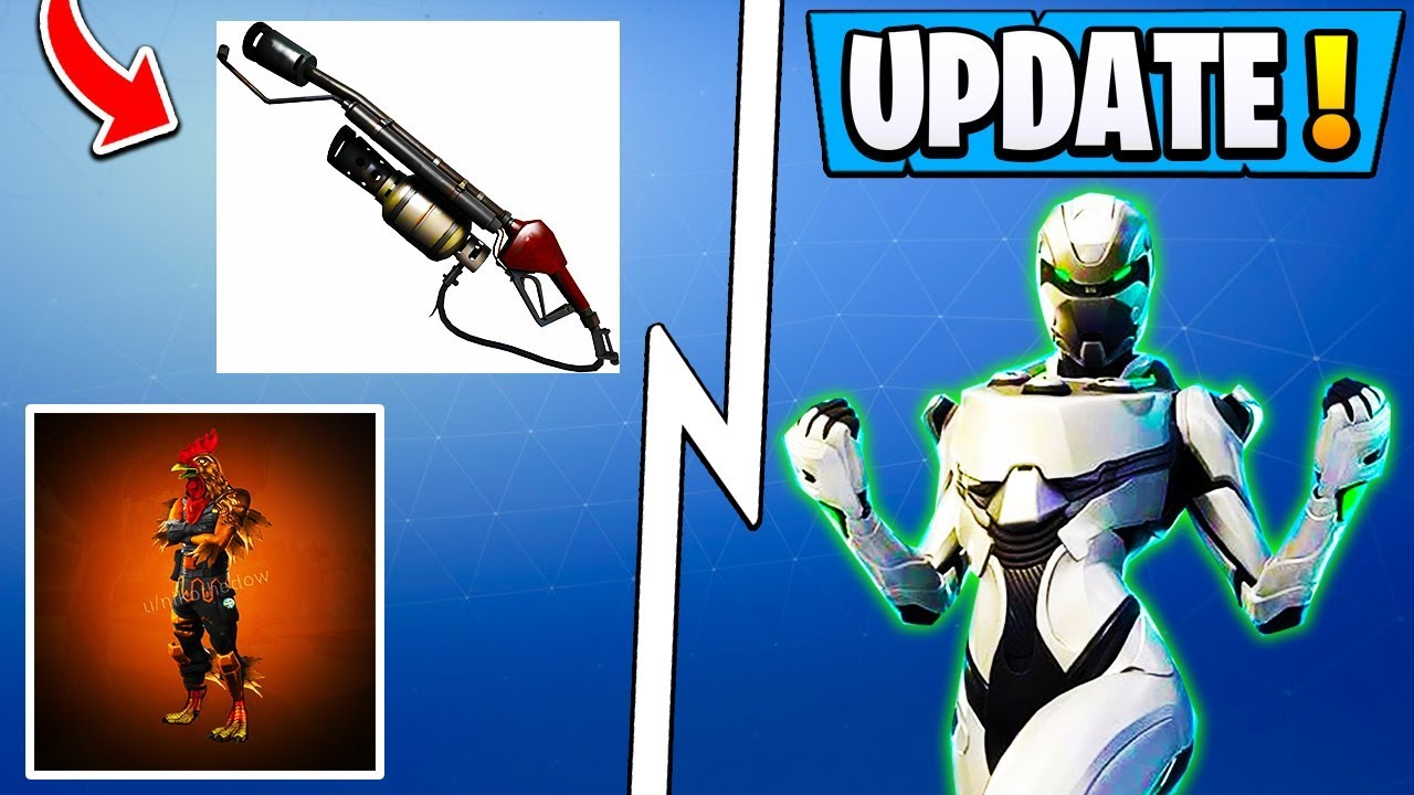 *BIG* Fortnite Update! | 5.5 Weapon, XBOX Exclusive Pack ... Xbox One Skins Fortnite