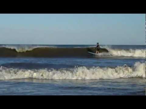 Wildwood Crest August Surfing: Big Wave Wipeout
