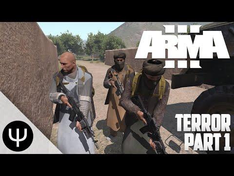 ARMA 3: Takistan Life Mod — Terror — Part 1 — Terrorist Negotiations!