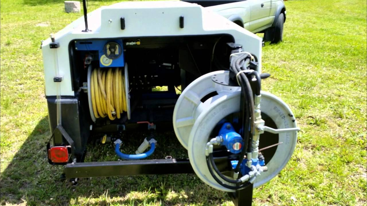 FOR SALE USED 3000PSI @ 19GPM SEWER JETTER