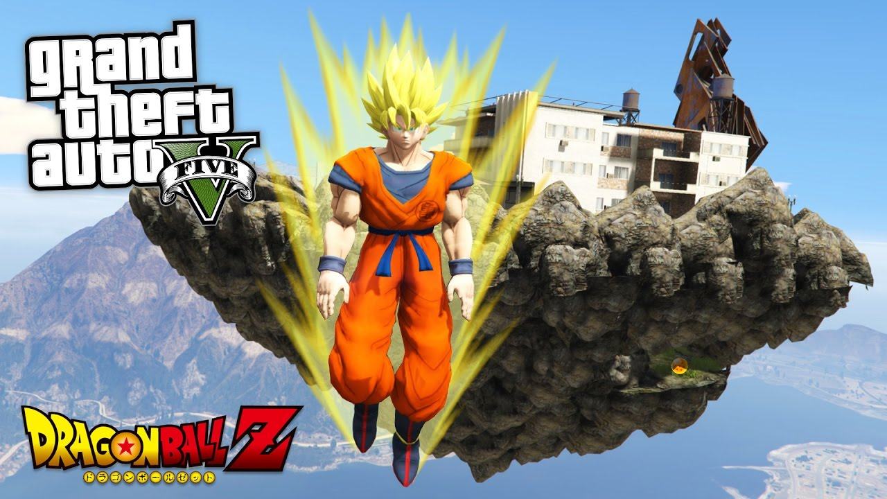GTA 5: Dragon Ball Z Mod