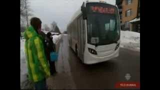 MIDIBUS à l'essais à la Société de transport de Lévis TJ Quebec