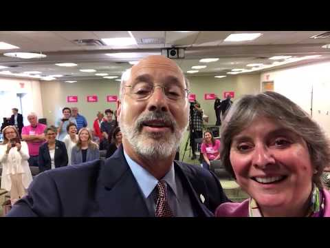 Governor Tom Wolf and First Lady Frances Wolf Share Their Support for Planned Parenthood