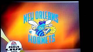 Playing NBA Live 2005 on original Xbox