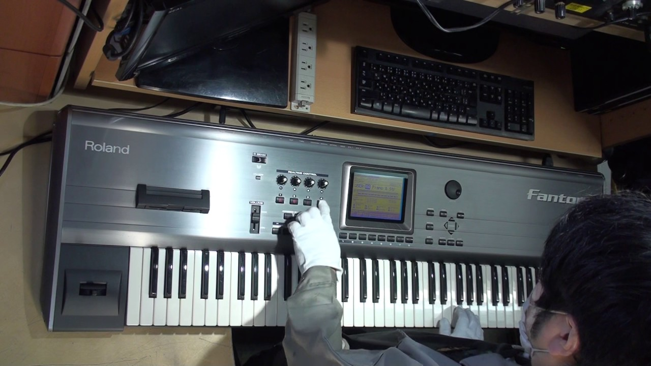 more photos 8c996 57967 Y317 ローランド Roland FA-76 Fantom シンセサイザー 鍵盤 鍵 中古 価格 販売 通販