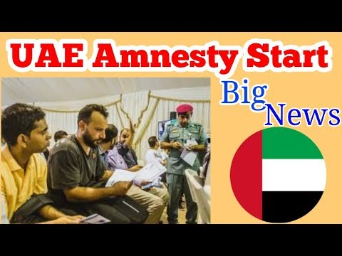 Big News - UAE Amnesty Scheme - Important Point