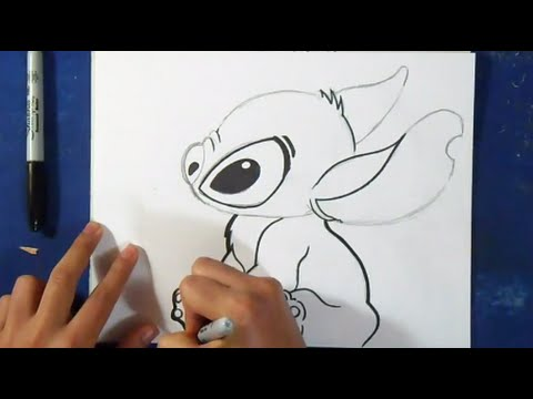 Comment dessiner stitch youtube - Dessiner disney ...