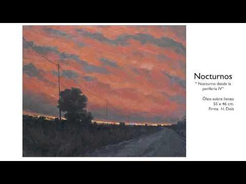 H ctor dols paisajes valencianos nocturnos arte - Pintor valenciano ...