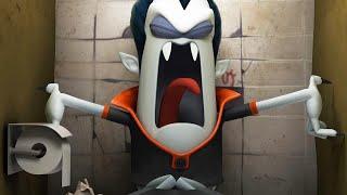 Spookiz | Застрял в ванной комнате | Смешной мультфильм для
