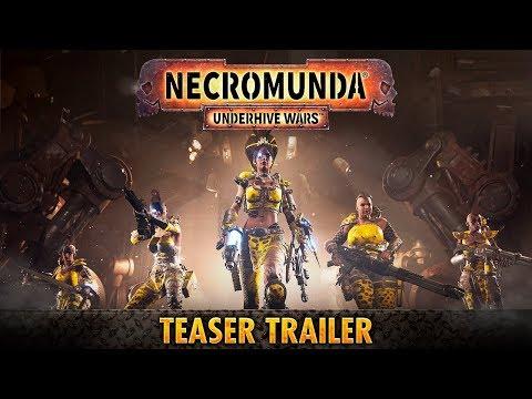 Necromunda: Underhive Wars - Тизер Трейлер