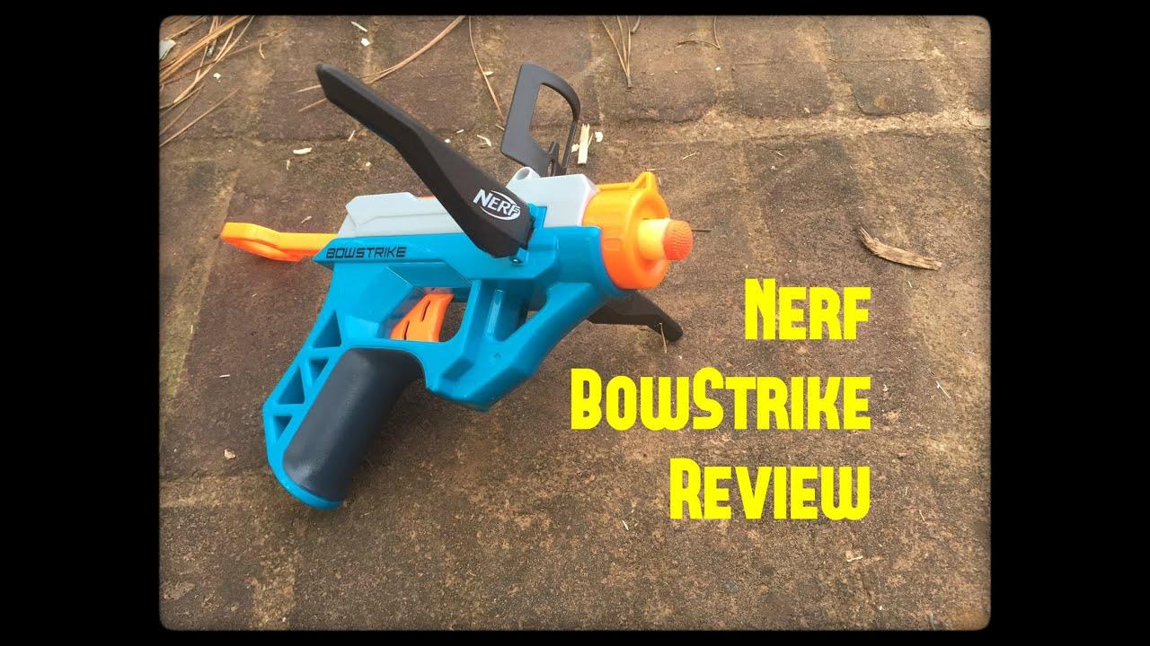 """Honest Review Nerf Elite BowStrike Nerf s Smallest """"Crossbow"""" Yet"""