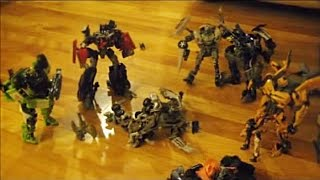 Transformers Dark Of The Moon: War On Earth Stop-Motion