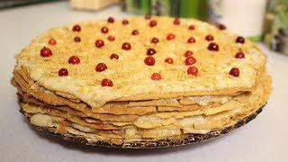 Торт Наполеон классический пошаговый рецепт но с осенней изюминкой