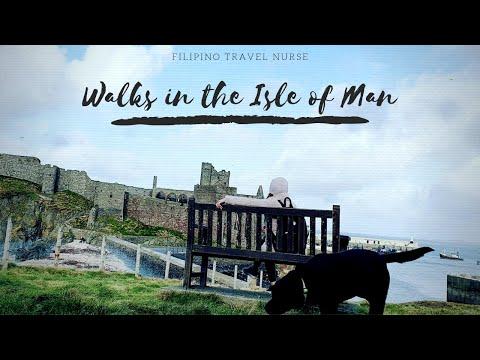 Walks in the UK - Peel Castle of The Isle of Man #isleofman #walks #travelnurse