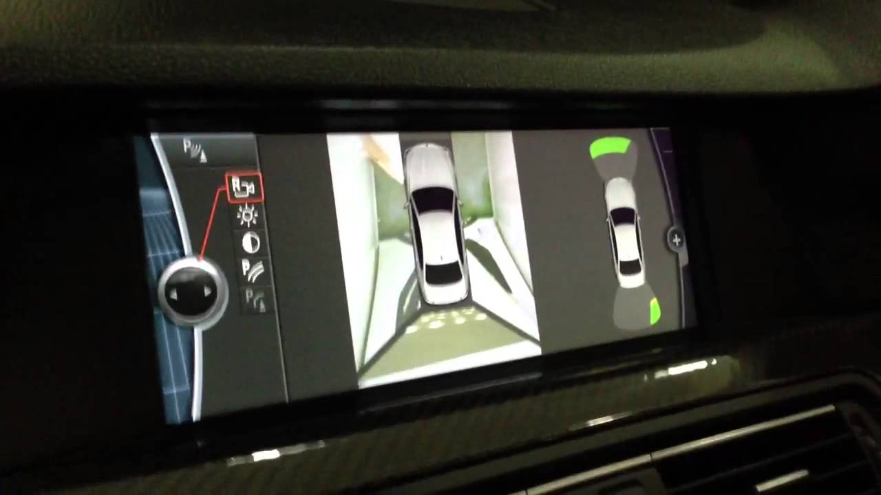 Bmw M5 Mirror With Top View Cameras Youtube