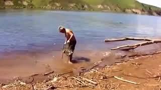 Приколы на рыбалке 2018