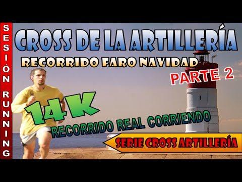 Cross de la Artillería de Cartagena - 14k Faro de Navidad Parte 2 [Running]