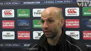 Jim Mallinder Previews Glasgow v Saints | Rugby Video Highlights
