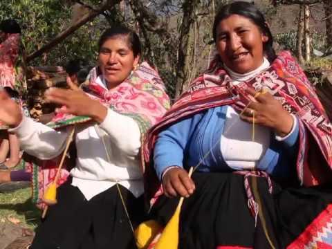 The magic art of the Inca weaving