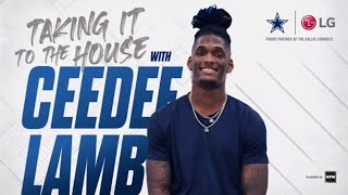 Taking It To The House w/ Dallas Cowboys CeeDee Lamb - Episode 1 - LG USA