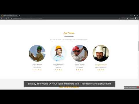 Industrial Business HTML Template