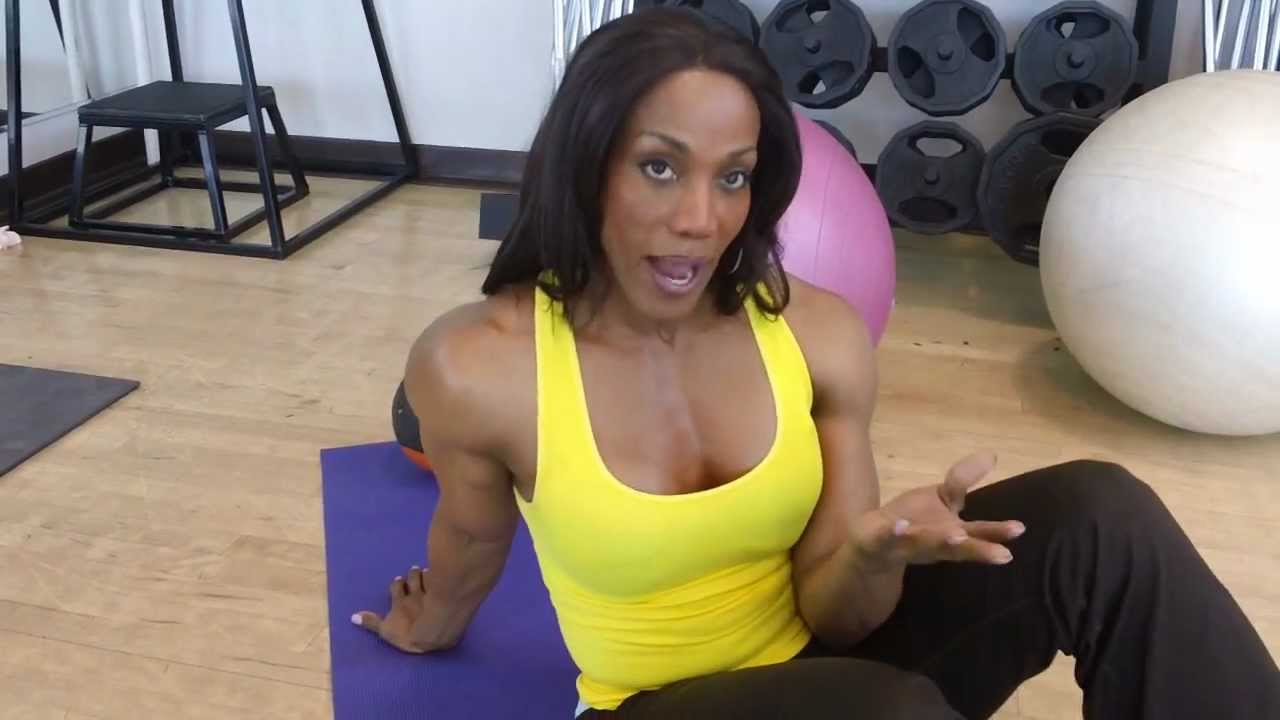 Abdominal Training with Lenda Murray - YouTube