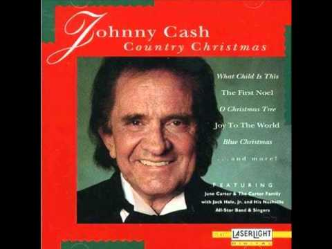 johnny cash away in a manger youtube - Youtube Country Christmas Songs