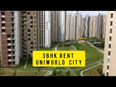 3 BHK Rent at Uniworld City New Town Kolkata