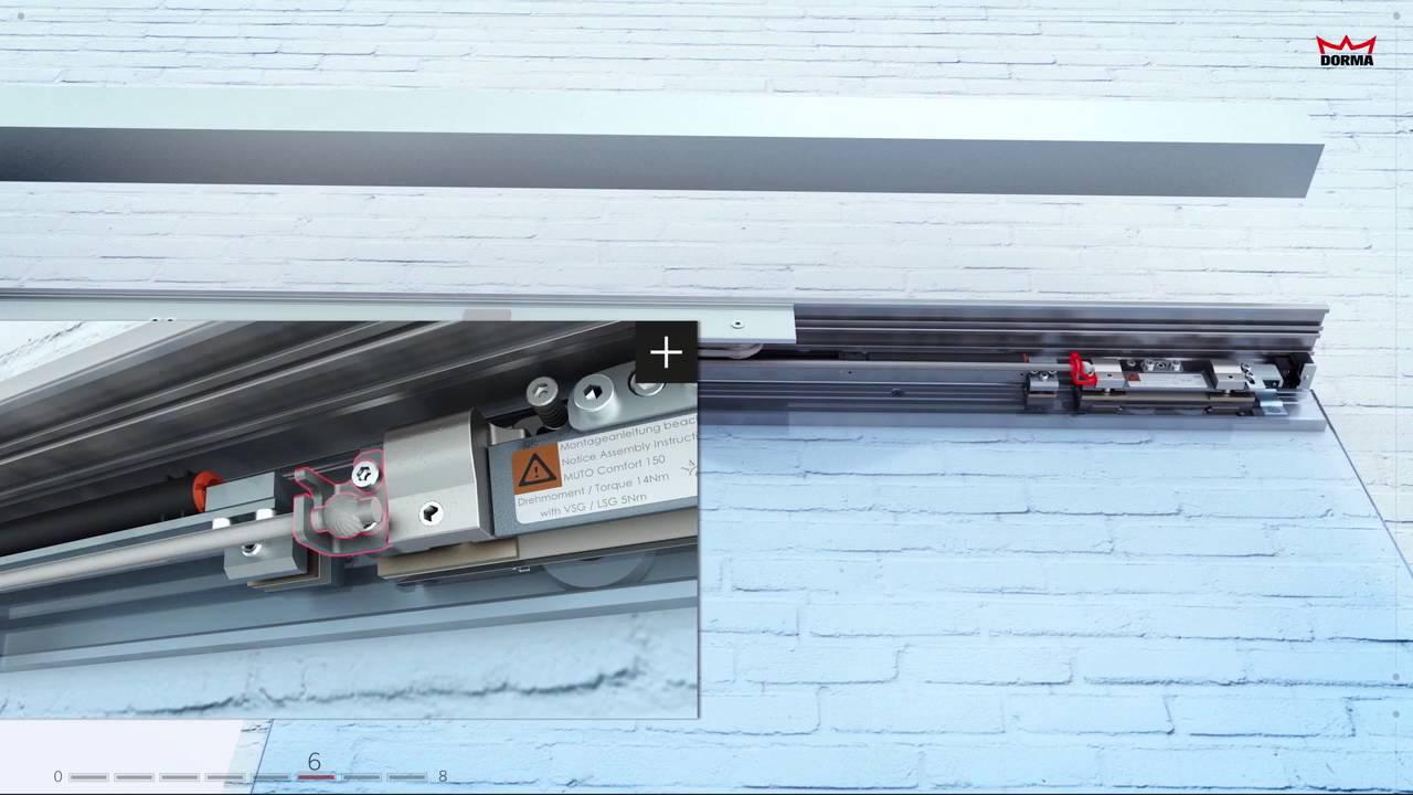 Dorma muto sliding door systems installation youtube dorma muto sliding door systems installation vtopaller Image collections