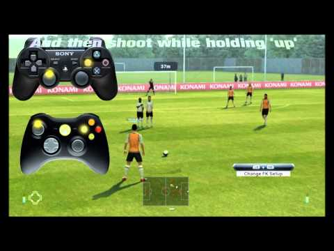 PES 2013 Knuckleball free-kick tutorial [HD]