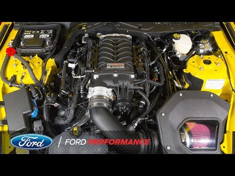 Ford Performance, Roush Performance Unveil 5.0L Mustang, F-150 V-8 Supercharger | Ford Performance