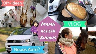 Mama allein Zuhaus | Neue Deko von TEDI | Neues Familienauto | VLOG12