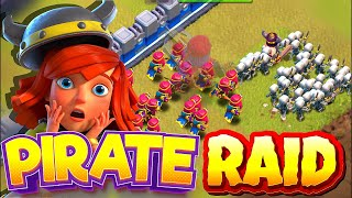 "POST HOLLOWEEN PIRATE RAIDS!!! ""Clash Of Clans"""