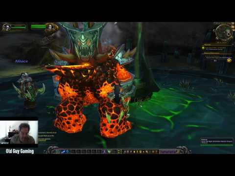Demon Hunter Level 98-100 Experience in World of Warcraft Legion Pre-Patch