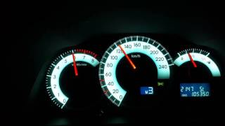 Toyota Corolla Verso 2007 Acceleration Top Speed