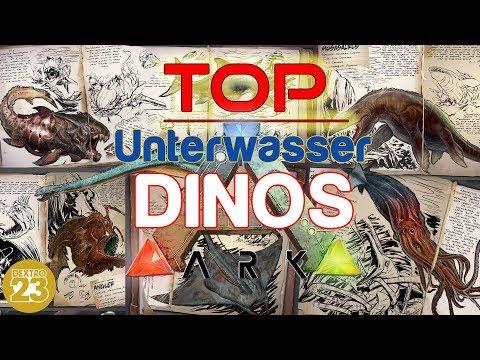 ARK Survival Evolved - BESTE Unterwasser DINOS ✩ TOP LIST ✩ [INFO/Guide/Deutsch] Dextro23