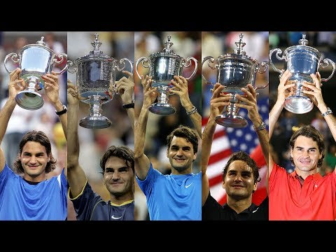 Roger Federer: Five US Open Titles