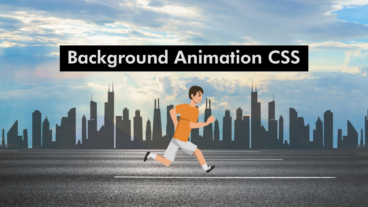 Make Website With Animation Using HTML And CSS   Animated Background on Website using CSS