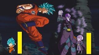 Explicando la pelea: Goku vs Hit (anime - manga) - Dragon Ball Super