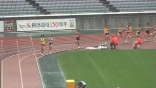 ちゅう陸ビデオ JO2009 B女子1500m決勝 福田有以 検索動画 18