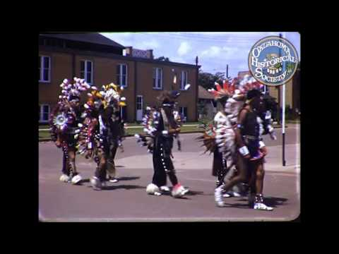 Anadarko Indian Expo Parade. Late 1940's Early 1950's