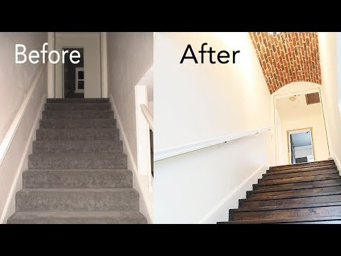 Vlogging Our Deconstructed DIY Staircase & Stair Renovation, Remodel and Tutorial