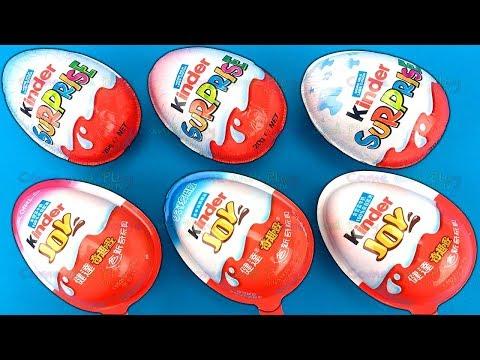 Super Surprise Eggs with Finding Dory TMNT Kinder Surprise and Kinder Joys