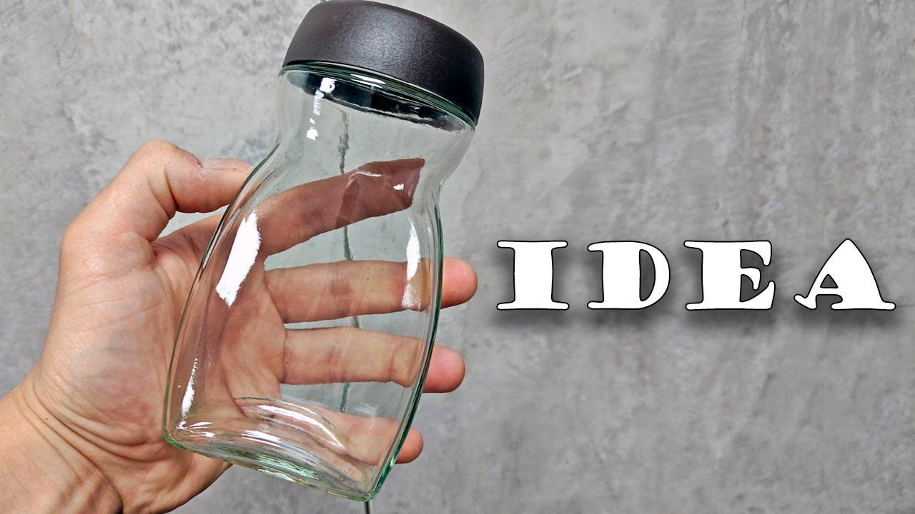 Симпатичная идея, как сделать поделку из стеклянной баночки. Идеи 2021