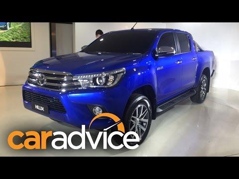 2019 Toyota Hilux (Revo) Reveal : Walkaround