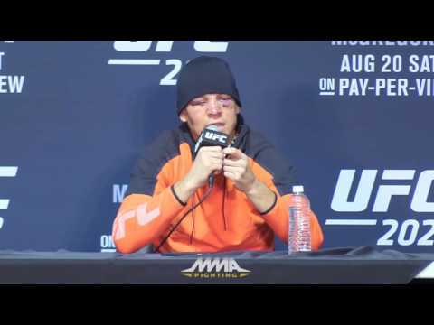 Nate Diaz Talks Vape Pen at UFC 202 Post-Fight Press Conference