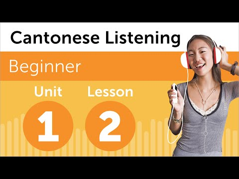 Cantonese Listening Practice - Rearranging the Office in Hong Kong