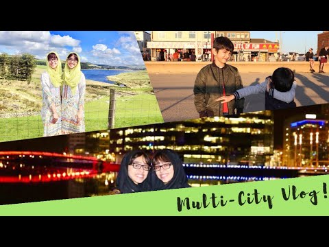 We Visited 4 Cities in 24 hours! Media City UK, Haslingden, Blackburn and Blackpool