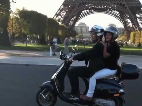 Scooter Rental Paris >> Paris By Scooter Rental Tours Of Paris Youtube